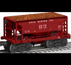 Lionel #1928180 Erie Mining Ore car 6-pack