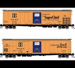 Rapido #156001A Santa Fe RR-56 Mechanical Reefer: Super Chief Slogan