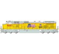Bachmann #90909 Union Pacific #9807 Dash 9 Diesel