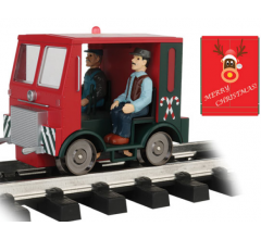 Bachmann #96255 Christmas Speeder