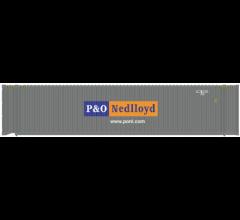 Atlas #20005736 45' Container P&O Nedlloyd Set #1