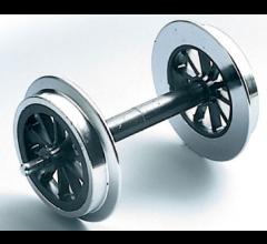 LGB #67319 Spoke Wheel Sets, Metal, 2 pieces