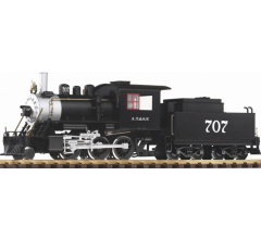 PIKO #38212 Santa Fe Mogul 2-6-0 & Tender With Sound and Smoke