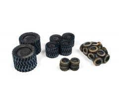 Classic Metal Works #20239 Spare & Scrap Tire Loads