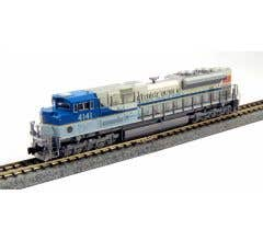 """Kato #176-8411 N EMD SD70ACe - Union Pacific """"George Bush Library and Museum"""""""
