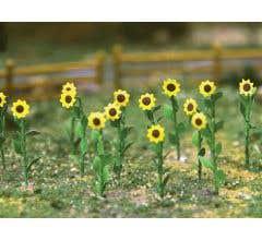 "JTT #32506 Sunflowers - 1"" Tall (16 pcs)"