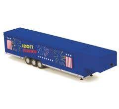 MTH #30-50072 Roscoe's Fireworks Vendor Trailer