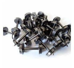"InterMountain #40055 33"" All-Brass Insulated Wheelsets (100-Bulk-Pack)"
