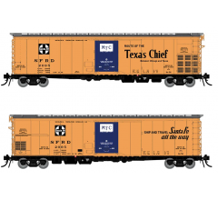Rapido #156003A Santa Fe RR-56 Mechanical Reefer: Texas Chief Slogan