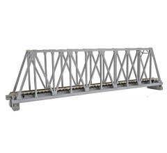 """Kato #20-433 248mm (9 3/4"""") Single Track Truss Bridge, Silver"""