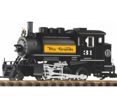 Piko #38207 2-6-0T Saddle Tank Steam Locomotive - D&RGW #31