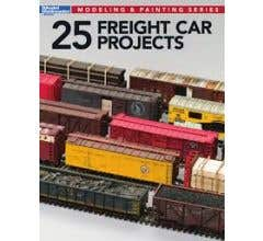 Kalmbach #12498 25 Freight Car Projects