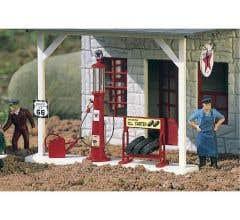 PIKO #62286 Antique Gasoline Pump Red