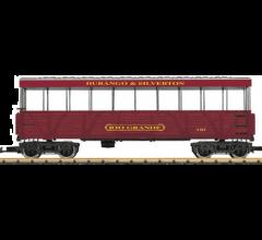 LGB #30261 Open-Air Observation Car Durango & Silverton 'Rio Grande' #410