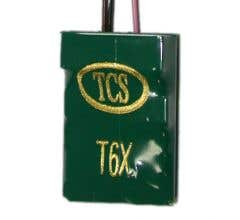 TCS #1149 T6XP-SH T6X Six Function decoder with short harness