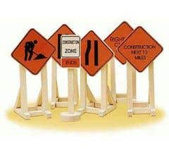 Lionel 32902 Construction Zone Signs