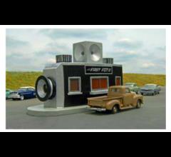 Bachmann #35207 Fast Foto Drive Through - Roadside U.S.A