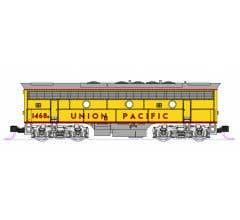 Kato #106-0426 N EMD F7A + F7B Union Pacific 2-Locomotive Set #1468A & 1468B