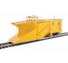 Walthers #920-110028 Russell Snowplow - Painted, Unlettered (yellow)
