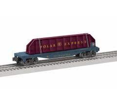 Lionel #2128210 THE POLAR EXPRESS™ Girder Bridge Flatcar