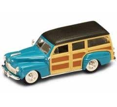 YatMing #94251BLUE 1948 Ford Woody 1/43 Blue