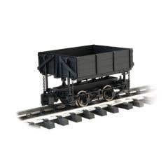 Bachmann #92503 120.3 Scale Woodside-Dump Car (black)