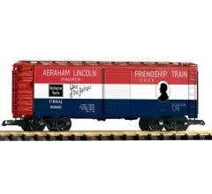 PIKO #38885 CB&Q Friendship Train Boxcar