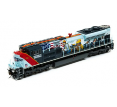 Athearn #G01111 SD70ACe w/DCC & Sound UP #1111 Powered by our People