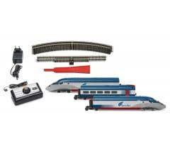 Hornby #HR1000T Acela Electric Train Set