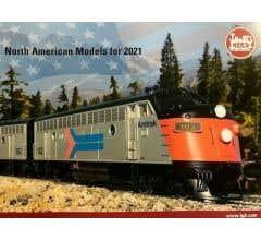LGB #LGBUSA2021 Barcode #515851 2021 North American Models Catalog