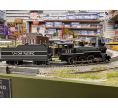 Williams #WIL1322 Union Pacific 4-6-0 Steam Engine #1322 With Whistle, Bell & Smoke NO BOX