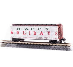 "Broadway Limited #6599 Holiday Season Stock Car ""Happy Holidays"" No Sound"