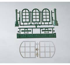 PIKO 62807 Assorted Arch Windows