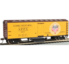 Bachmann #16331 Track Cleaning Woodside Reefer - Agar Packing Co
