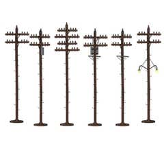 Lionel 37939 Scale Telephone Poles