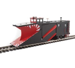 Walthers #920-110029 Russell Snowplow - Painted, Unlettered (black)