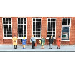 Bachmann #33170 STANDING OFFICE WORKERS 6pc/pk
