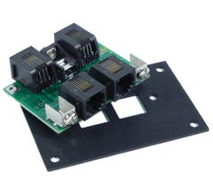 NCE #52400207 (UTP Panel) Cab Bus fascia panel w/RJ12 connectors