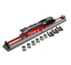 Williams #39030 Rolling Road w/Rollers and Drive Wheel Cleaners (O Scale 3 Rail)