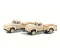 Classic Metal Works #50405 1954 Ford Pickup (Sandstone White) (2-Pack)