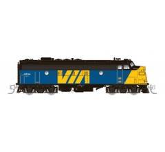 Rapido #530509 CN FP9A (DC/DCC/Sound): VIA-CN #6524