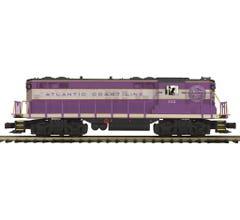 MTH #20-21523-1 GP-9 Diesel Engine With Proto-Sound 3.0 - Atlantic Coast Line Cab No. 112