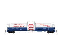 Broadway Limited #3824 Cryogenic Tank Car American Cyrogenics 2-pack