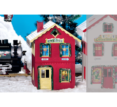 PIKO #62711 North Pole Elf House Built Up
