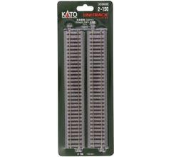 "Kato #2-150 Straight Roadbed Track Section - Unitrack 9-3/4"" 246mm pkg(4)"