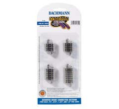 Bachmann #44899 Assorted Short Connector Sections (8pc)
