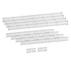 Lionel HO #2057120 Picket Fence - White