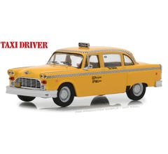 GreenLight #86532 Travis Bickle's 1975 Checker Taxicab 1:43 Scale