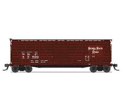 Broadway Limited #5885 NKP Stock Car Hog Sounds