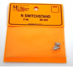 Micro Engineering #80-302 N Switchstand, Non-Operating (2)